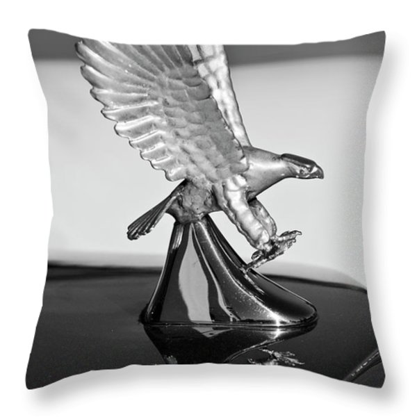 1986 Zimmer Golden Spirit Hood Ornament 3 Throw Pillow by Jill Reger