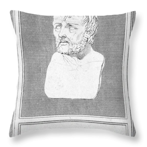 Lucius Annaeus Seneca Throw Pillow by Granger