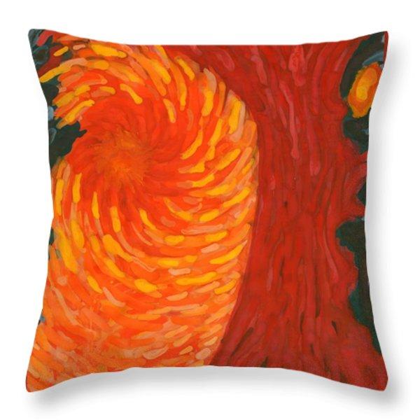 Always Near You Throw Pillow by Wojtek Kowalski