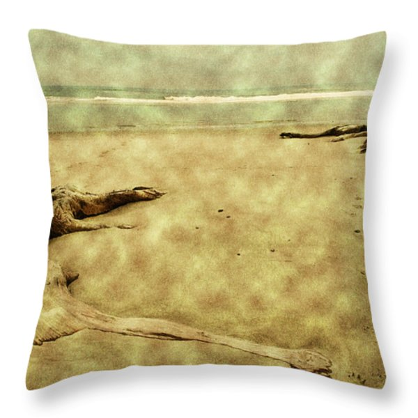 Ancient Tree Roots Throw Pillow by Bonnie Bruno