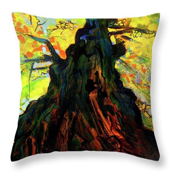 Autumn Glow Throw Pillow by Allison Coelho Picone