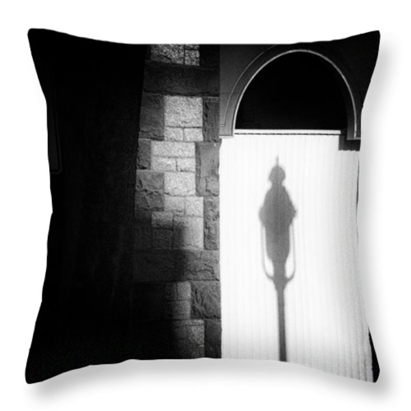 Barristers Window Throw Pillow by Bob Orsillo