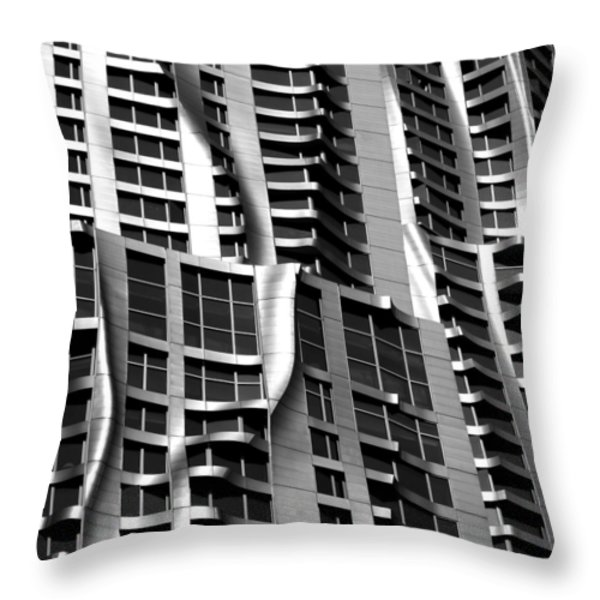 Beekman Tower Detail Throw Pillow by Andrew Fare