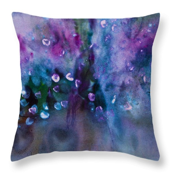 Blue Note Throw Pillow by Don  Wright