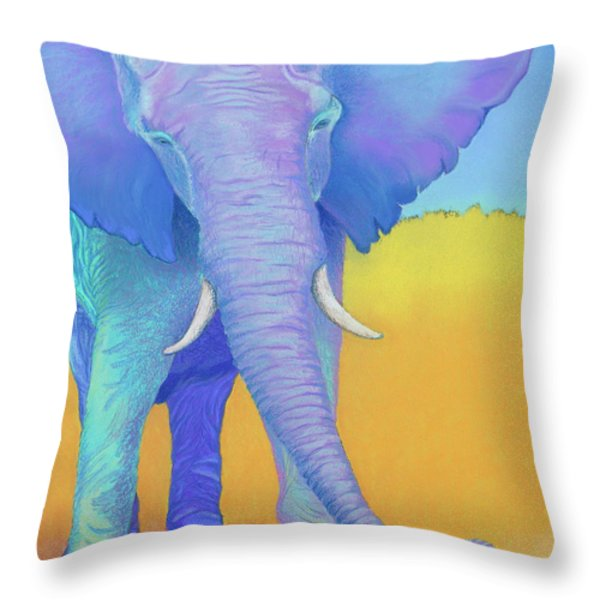 Born Of Wisdom Throw Pillow by Tracy L Teeter