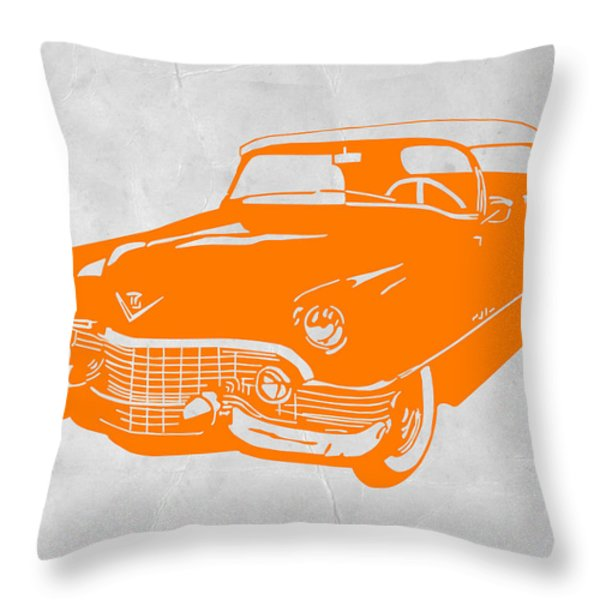 Classic Chevy Throw Pillow by Naxart Studio