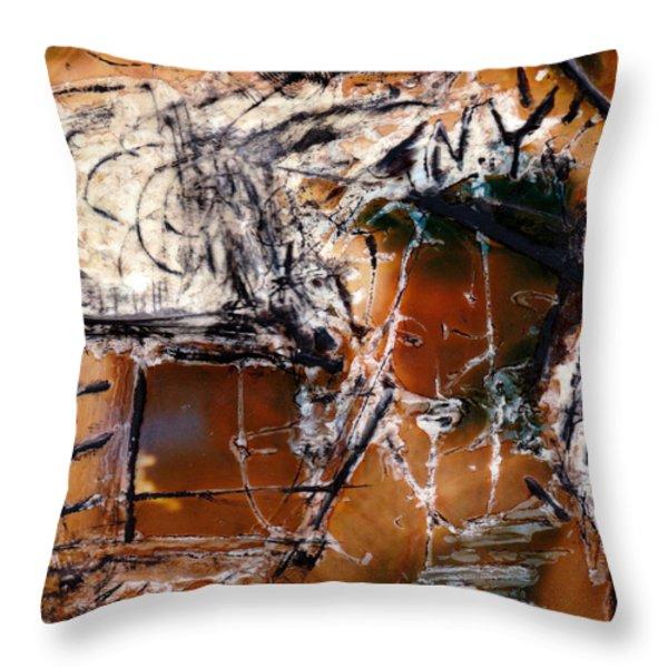 Dan Throw Pillow by JC Armbruster