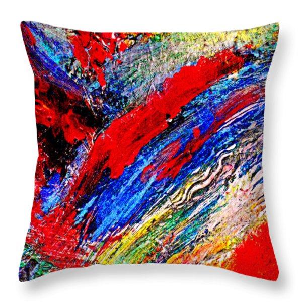 Delirium Throw Pillow by Michael Durst