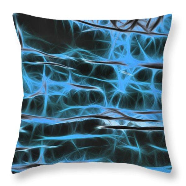 Dream Weaver Throw Pillow by Thomas  MacPherson Jr