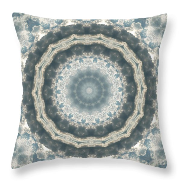 Enternity Throw Pillow by Thomas  MacPherson Jr