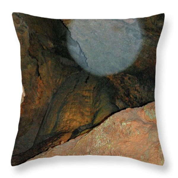 Ghostly Presence Throw Pillow by DigiArt Diaries by Vicky B Fuller