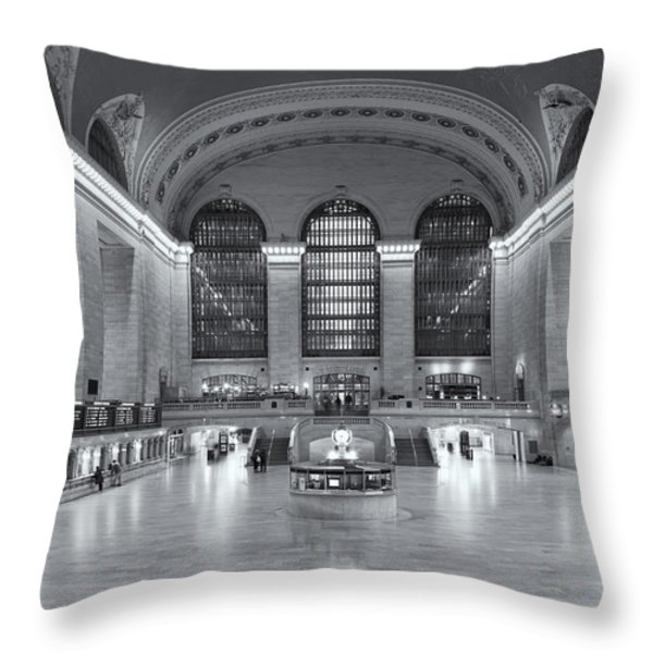 Grand Central Terminal II Throw Pillow by Clarence Holmes