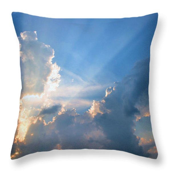 Inspiration Point Throw Pillow by Kristin Elmquist