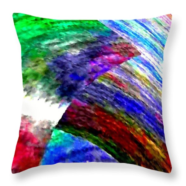 Interwoven Throw Pillow by Will Borden