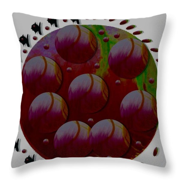 Landscape Decorative Throw Pillow by Pepita Selles