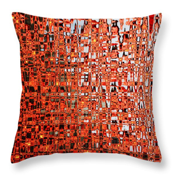 Letting In Light Throw Pillow by Carol Groenen