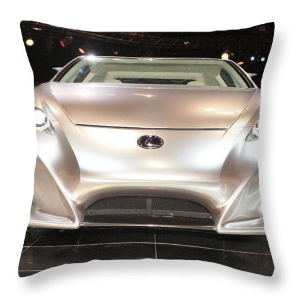 Lf-a Braless Throw Pillow by Alan Look