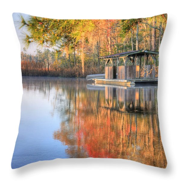 Location Location Location 2 Throw Pillow by JC Findley