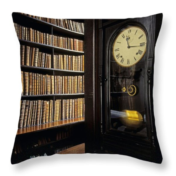 Marshs Library, Dublin City, Ireland Throw Pillow by The Irish Image Collection