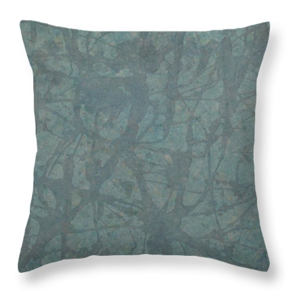 Minimal Number 3 Throw Pillow by James W Johnson
