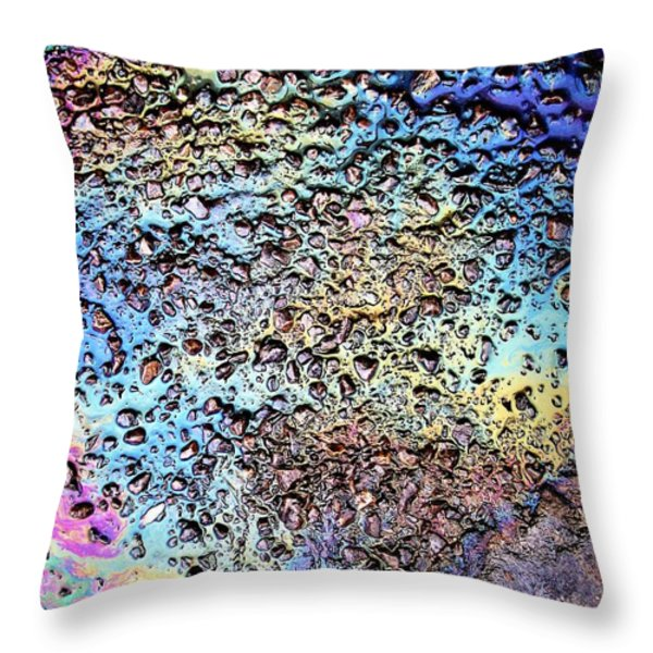 My Obsession With Asphalt I Throw Pillow by Anna Villarreal Garbis