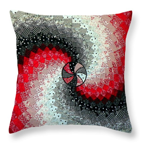 Oh Lynda Throw Pillow by Karen Wiles
