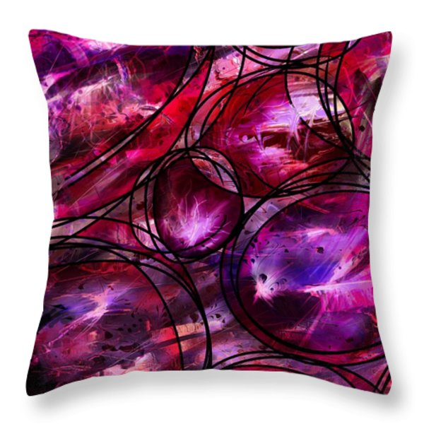 Other Worlds Throw Pillow by Rachel Christine Nowicki