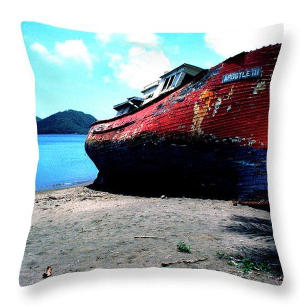 Prince Rupert Bay Throw Pillow by Thomas R Fletcher