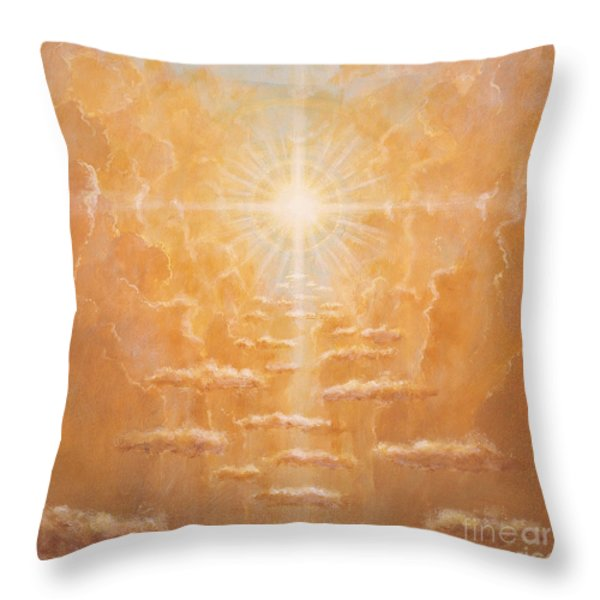 Radiance  Throw Pillow by Simon Cook