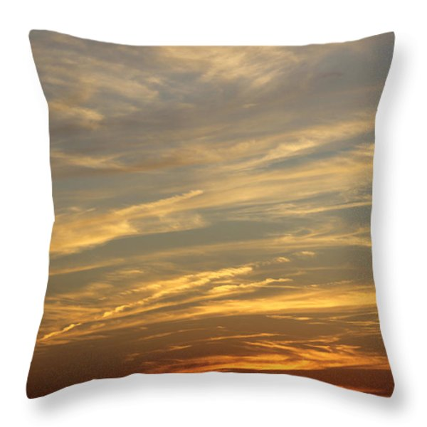 Reach For The Sky 7 Throw Pillow by Mike McGlothlen