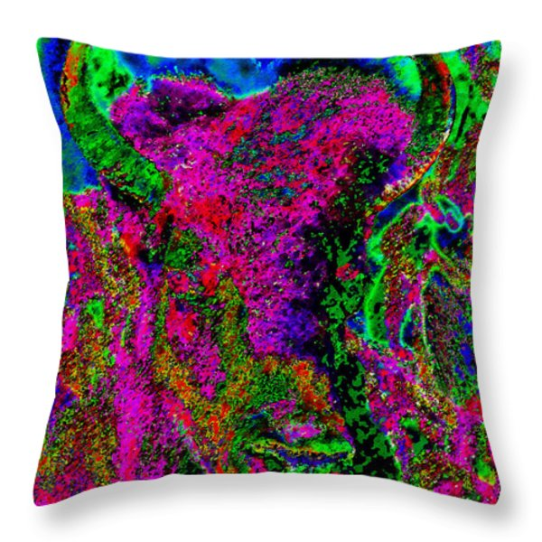 Red Clouds Great Vision Throw Pillow by David Lee Thompson