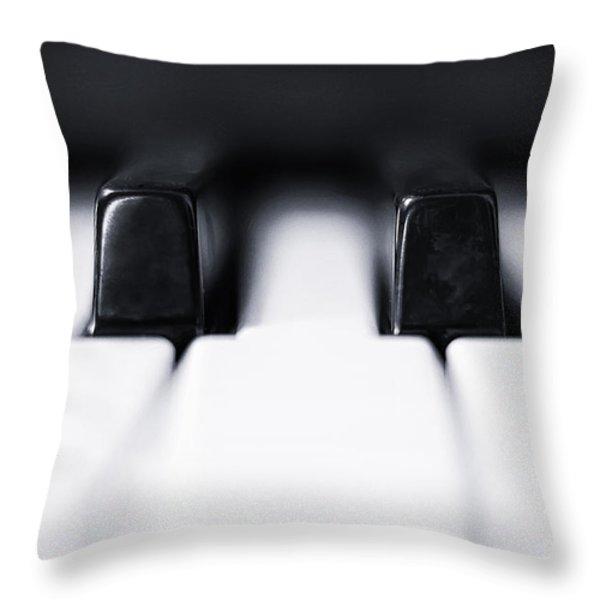 Sharp or flat Throw Pillow by Scott Norris