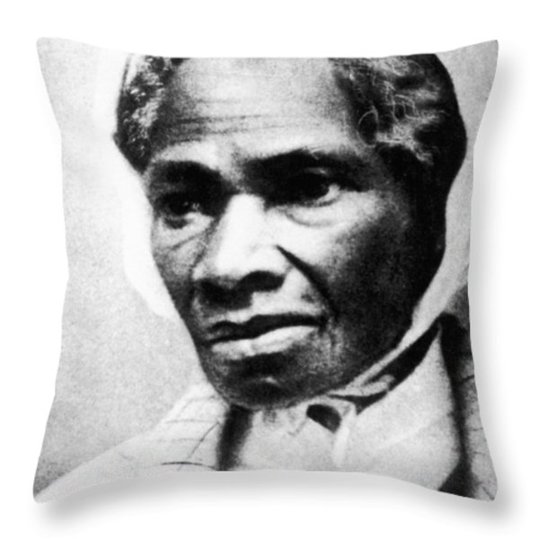 Sojourner Truth Throw Pillow by Granger