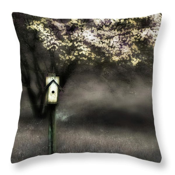 Spring  Throw Pillow by Gray  Artus