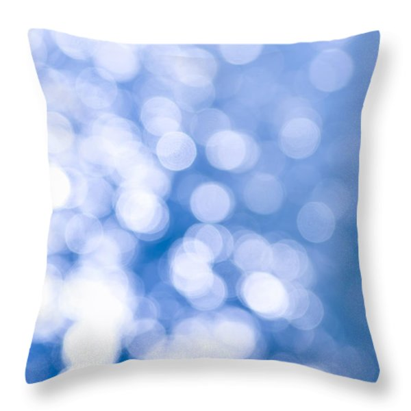 Sun Reflections On Water Throw Pillow by Elena Elisseeva
