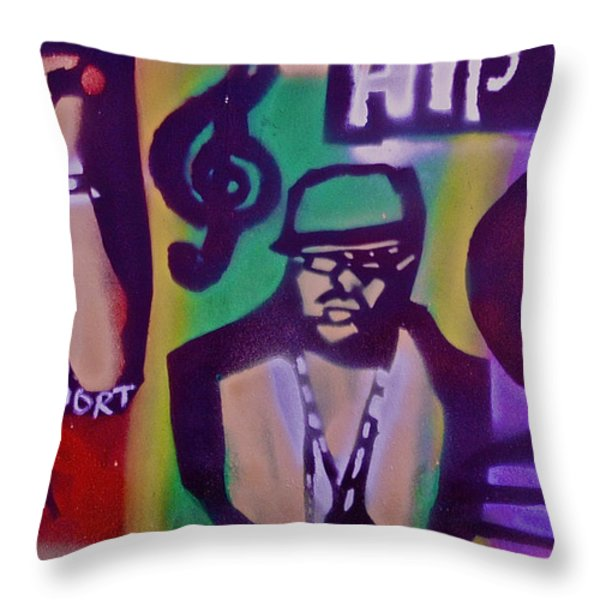 The Bay Area  Throw Pillow by Tony B Conscious
