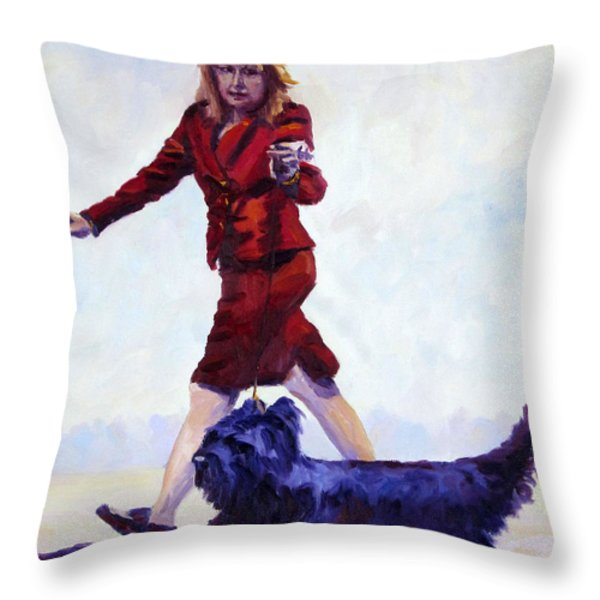 The Skye's The Limit Throw Pillow by Terry  Chacon