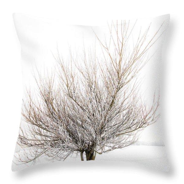 The Tree Throw Pillow by Svetlana Sewell