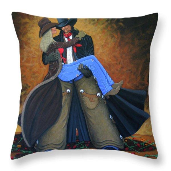 Threshold Throw Pillow by Lance Headlee