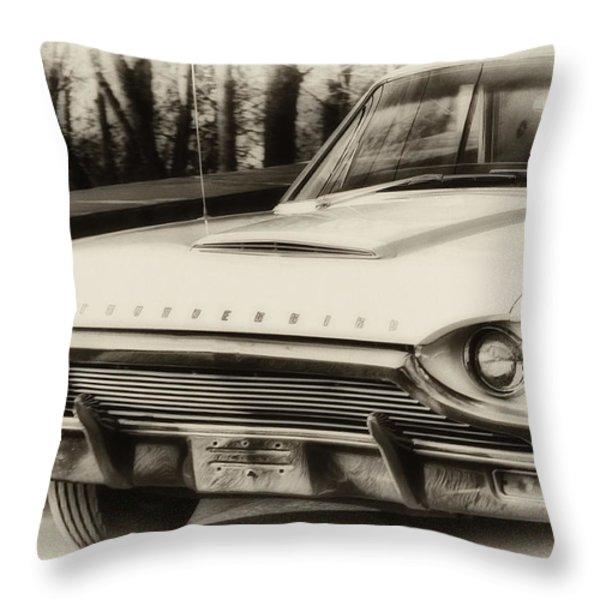 Thunderbird Dreams Throw Pillow by Bill Cannon