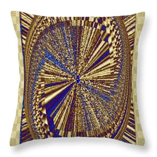 Treasure Trove Beyond Throw Pillow by Will Borden