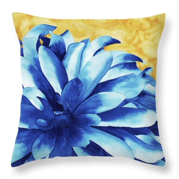Two Tone Throw Pillow by Ken Powers