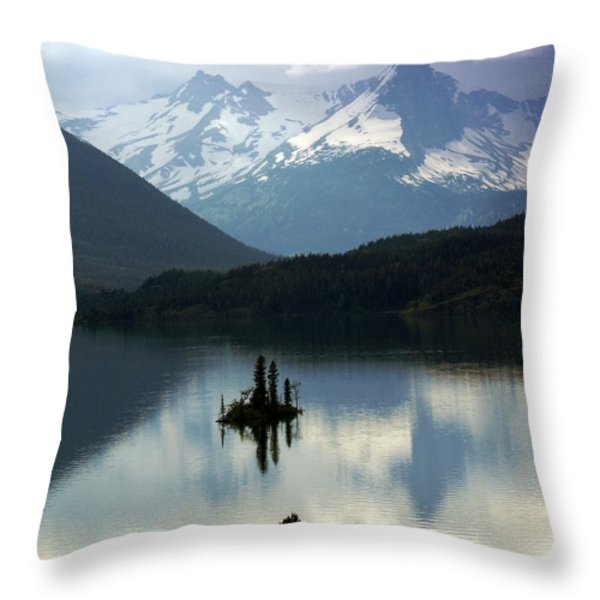 Wild Goose Island 2 Throw Pillow by Marty Koch