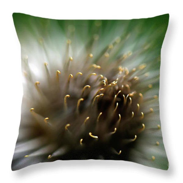 Wild Thing Throw Pillow by Lois Bryan