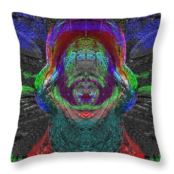 Windows To Your World Throw Pillow by Tim Allen