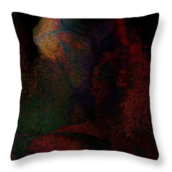 Within Are Limitless Treasures Throw Pillow by James Barnes