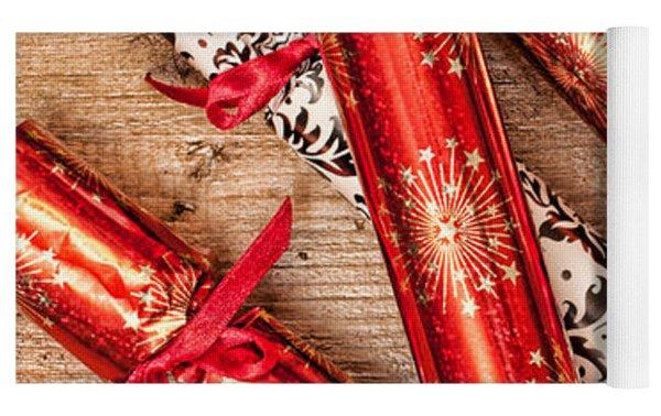 Christmas Crackers Yoga Mat