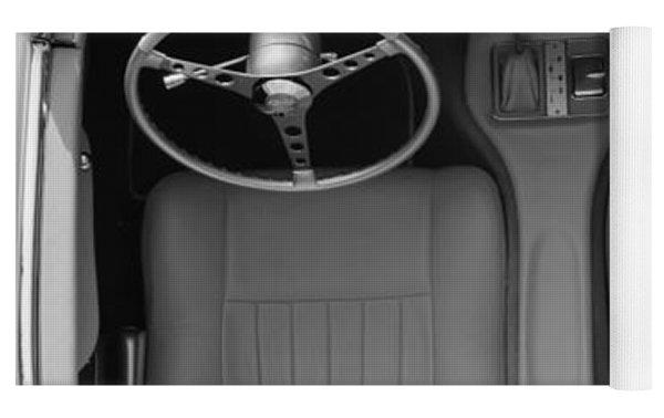 1960 Chevrolet Corvette Yoga Mat by Jill Reger