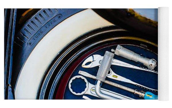 1949 Volkswagen Vw Hebmuller Cabriolet Tool Kit -0278c Yoga Mat by Jill Reger