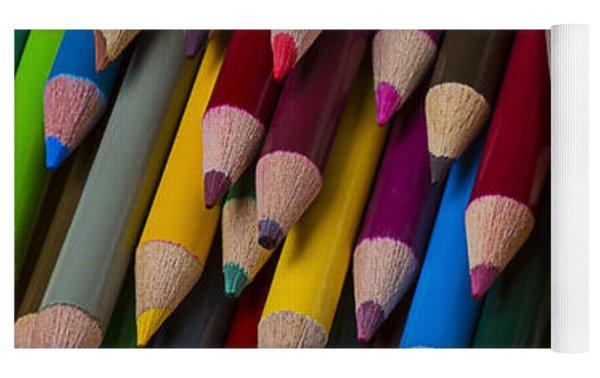 Colored Pencils  Yoga Mat